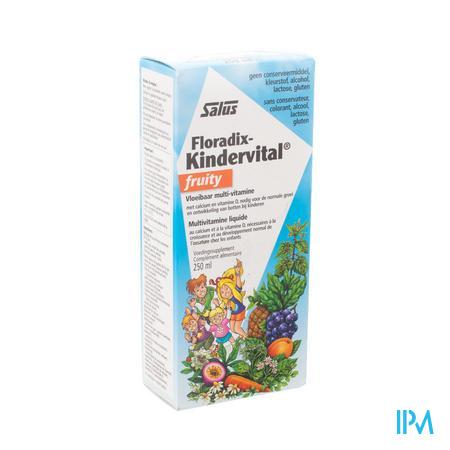 Floradix Kindervital Fruity 250ml
