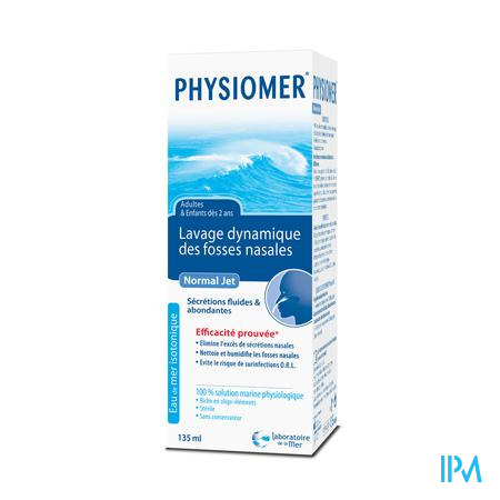 Farmawebshop - PHYSIOMER NORMAL JET 135ML