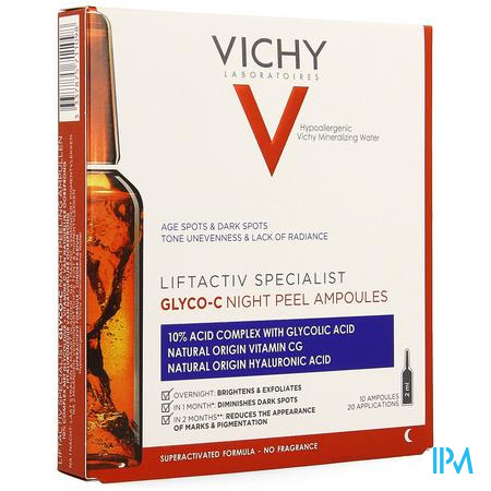 Vichy Liftactiv Glyco-c Amp 10x1,8ml