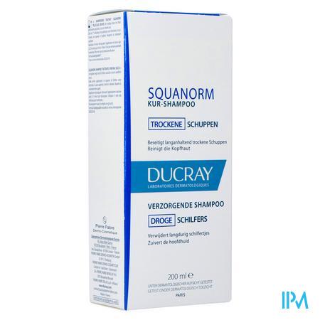 Ducray Squanorm Sh Droge Schilfers 200ml Nf
