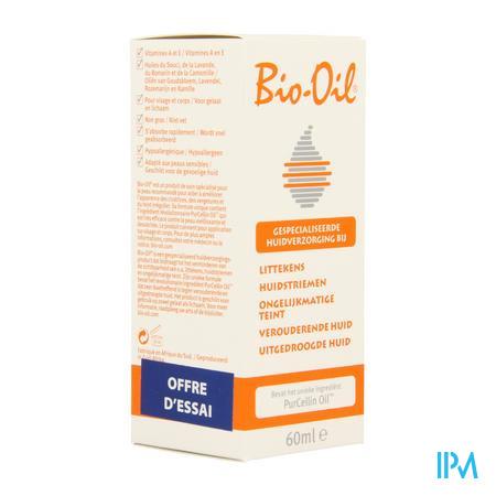 Afbeelding Bio-Oil Herstellende Olie Promo 60 ml.