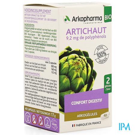 Arkocaps Artisjok Bio Caps 40