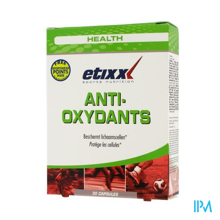 Etixx Anti-Oxydants 30 capsules