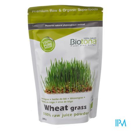 Biotona Bio Tarwegrassappoeder 200 g