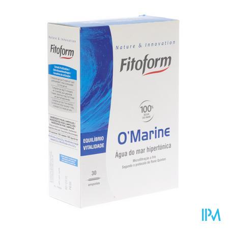 O Marine Drinkbare Amp 30x10ml Fitoform