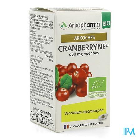 Arkocaps Cranberryne Bio Caps 45