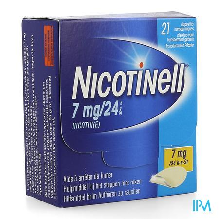 Nicotinell 7mg/24h Pleister Transdermaal 21