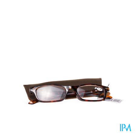 Pharma Glasses Leesbril Bruin +1,5 1 stuk
