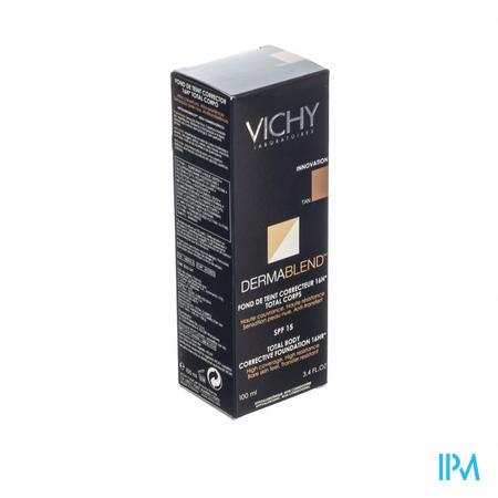 Vichy Dermablend Corrigerende Fond De Teint Lichaam Donkere Huid 100 ml