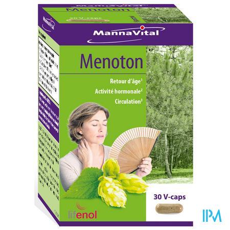 Mannavital Menoton V-caps 30