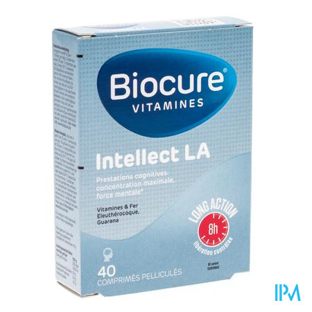 Biocure Intellect LA 40 tabletten