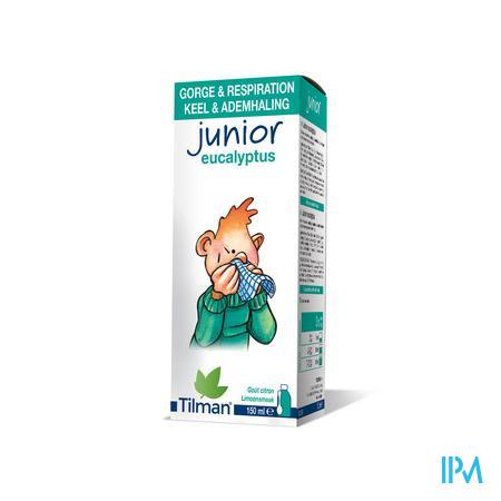 Junior 0-10 Eucalyptus Sirop Enfant 150 ml