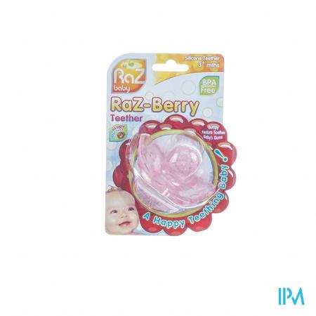 Raz Baby Bijtring Razberry Pink 1 stuk