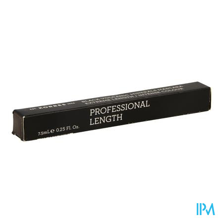 Afbeelding Korres Black Volcanic Minerals Extreme Length Mascara n°02 Brown 7,5 ml.