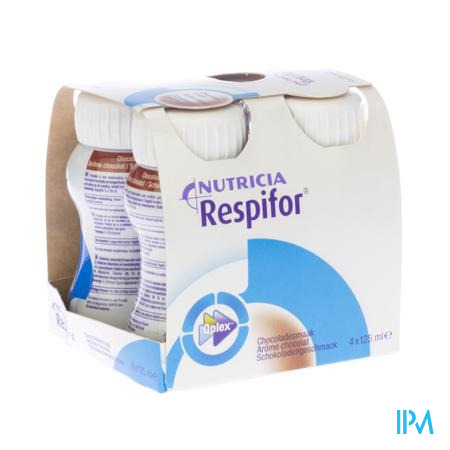 Respifor Chocolade 4x125 ml