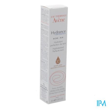 Avene Hydrance Perfecteur Teint Rijk Ip30 Tb 40ml