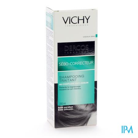 Vichy Dercos Sebo Correct. Chev Gras Shampooing 200 ml