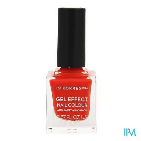 Korres Km Gel Effect Nail 45 Coral 11ml