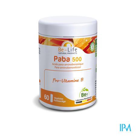 Paba Vitamines Be Life Gel 60x500 mg