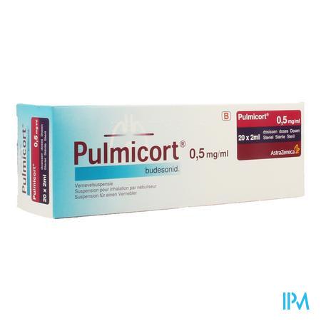 Pulmicort Susp Pour Neb. 0,50mg/ml 20x2ml
