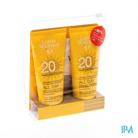 Louis Widmer Soleil All day 20+ Duopack (Légèrement parfumé) 2 x 100 ml