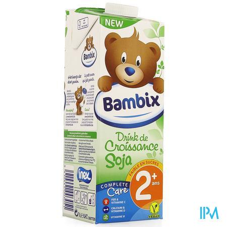 Bambix Groeimelk Soja 2+ 1l