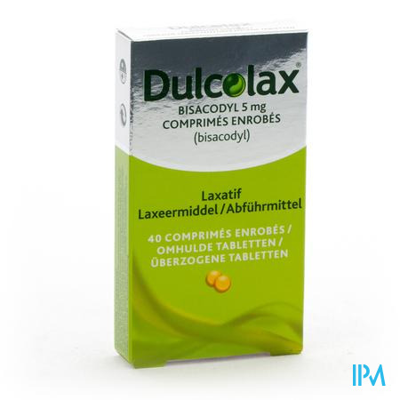 DULCOLAX  5MG 40DRAG