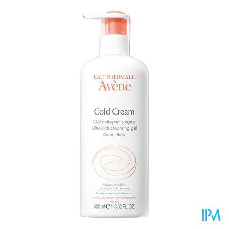 Afbeelding Avene Cold Cream Reinigingsgel Overvet 400ml.