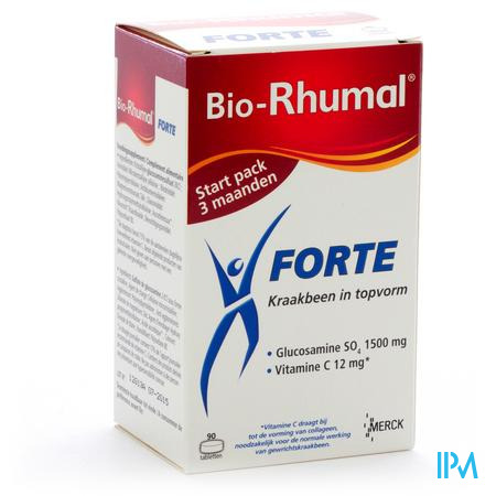 Bio-Rhumal Forte 1500 Mg 90 tabletten