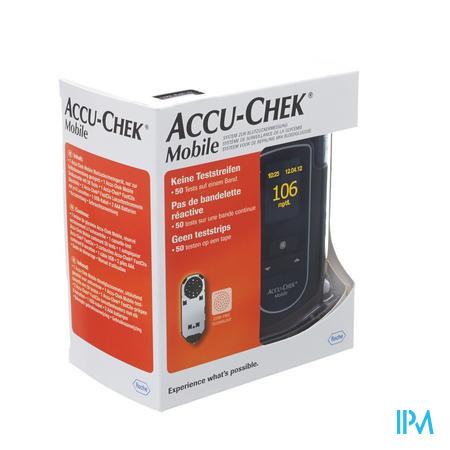 Accu Chek Mobile Startkit (50tests+metre+piqueur)