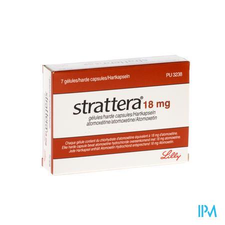 Strattera Caps 7 X 18mg