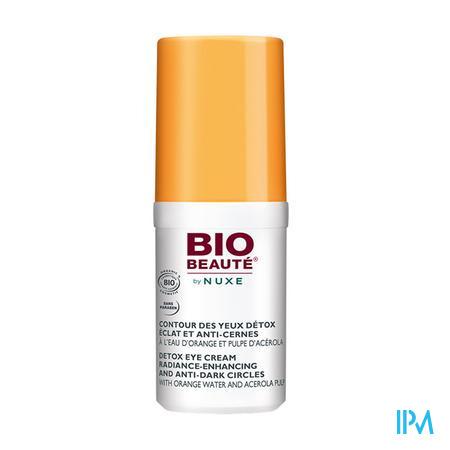 Afbeelding Nuxe Bio Beauté Oogcontourverzorging Detox voor Stralende Teint en Anti-Kringen voor Alle Huidtypes Tube 15 ml.