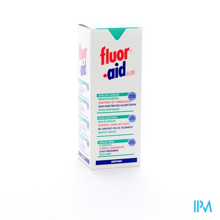 Dentaid Fluor Aid 0,05% Mondspoelmiddel 500 ml