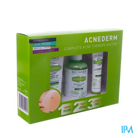 Bionnex Acnederm 3in1 Promo Pack