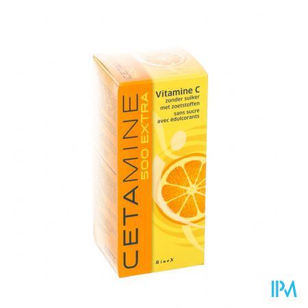 Cetamine 500 Extra sans sucre Comprimes A Sucer 60