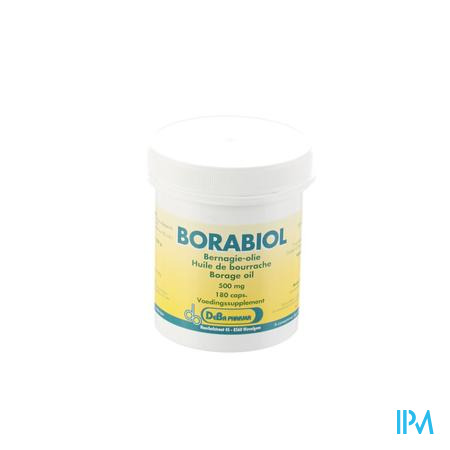 Borabiol 500Mg 180 capsules