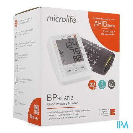 Microlife Bpb3 Afib Pc Bloeddrukmeter Arm Otc Sol