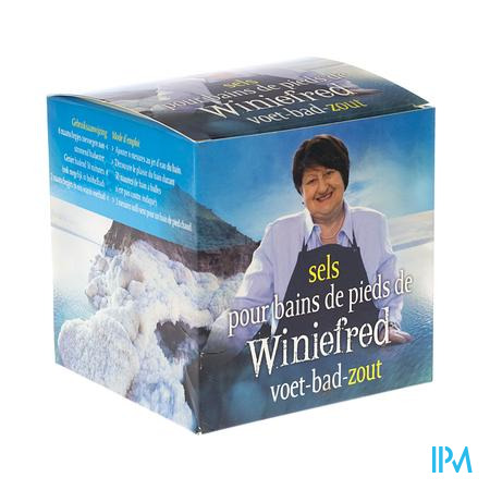 Winiefred's Voet-bad-zout 500g