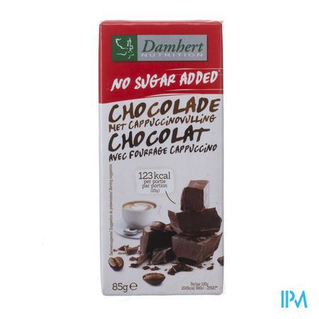 Damhert Chocolade Cappuccino Zonder Suiker 85 g