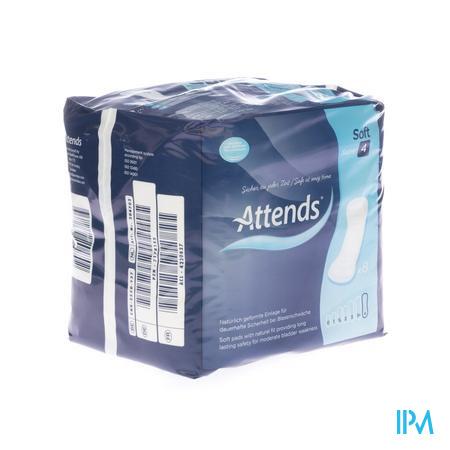 Attends Soft 4 Maxi Inleg Anatom. 1x 8