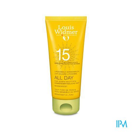 Louis Widmer Sun Gel 15 (Licht geparfumeerd) 100 ml tube