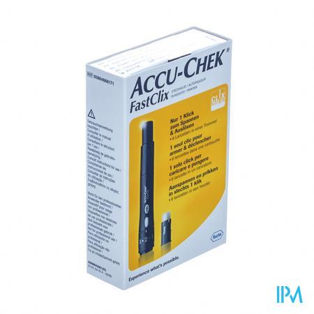 Accu-Chek FastClix Prikpen + Lancetten 1 + 6 stuks