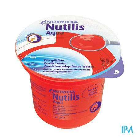 Nutilis Verdikt Water Grenadine Cups 12x125 gr