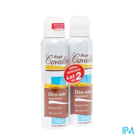Roge Cavailles Deo Spray Man Duo 2x150ml