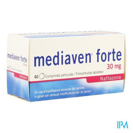 Afbeelding Mediaven forte 60 tabletten.