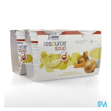 Resource Soup Poulet 4x200 ml 12118143  -  Nestle Belgilux