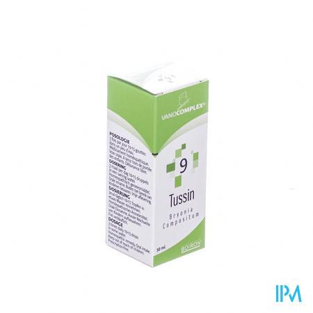 Vanocomplex 9 Tussin 50 ml