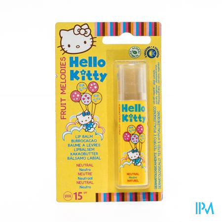 Hello Kitty Lipbalsem Naturel 1 stuk
