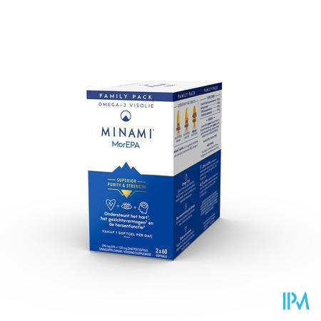 Afbeelding MorEpa Smart Fats Familieverpakking met 85% Omega-3 High EPA Formula 120 Softgels .