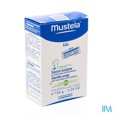 Mustela Baby Overvette Zeep + Cold Cream 150 g